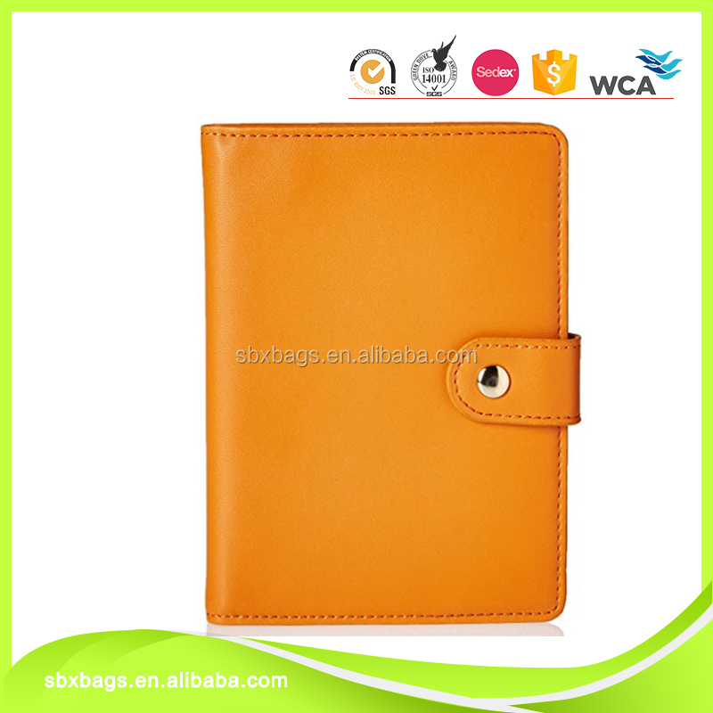 Business Leather Passport Cover & Travel Wallet Id Card Case