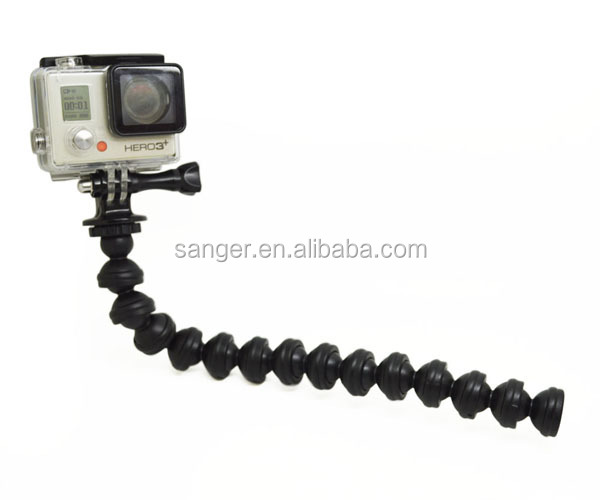 factory supply Gorillapod Focus Camera Tripod for Go Pro Heros 4S/4/3+/3/2/1,
