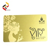 Competitive price PVC blank smart cards 125khz proximity card and 13.56MHz RFID cards