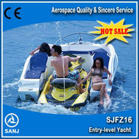 New 2016 SANJ Personal watercraft jet ski water scooter Mate Combined boat small jet boat
