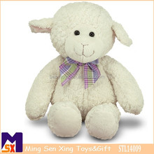 "16"" Plush Lovey Lamb toy, Huggable super soft Lamb secured and safe for all ages"