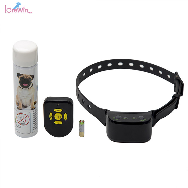 LoreWin LY-06S New <strong>Innovative</strong> Products 2018 Upgrading Remote Spray No Bark Dog Collar No <strong>Shock</strong>