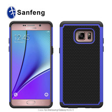 Ballistic 3 in1 High Impact Anti-slip Shockproof Plastic Cell Phone Cases for Samsung Galaxy Note 6