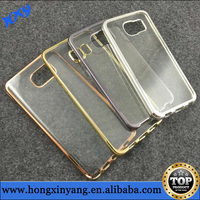 electroplate TPU phone cases For Samsung S6 ,For Samsung Glaxy S6 electroplate tpu cover