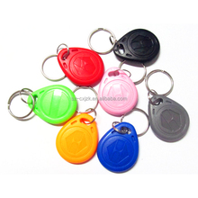 Cheap strong ABS material custom RFID Tear Keyfob/ NFC Key Fob