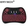 ENYBOX T2 2.4g Mini Wireless QWERTY Keyboard with Touchpad For Smart TV