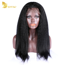 Brazilian Human Hair Wig Cheap Middle Part Lace Front Wigs