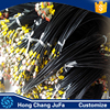Synthetic Fiber High Pressure Rubber Resin Transfer Hose With Fittings