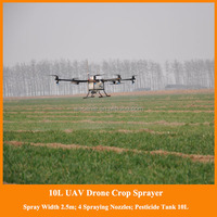 gyroplane type uav drone, plant protection uav-10 kg battery powered uav, agriculture drone sprayer for sale