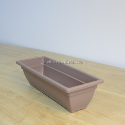 60cm PP garden taupe plastic rectangular planter box seeding planter
