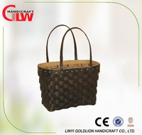 Wicker crafts wood chip bag wholesale