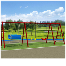 fashion Modern baby swing kids metal park swing set outdoor swing sets for adults