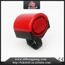 motorcycle special plastic novelty electric bike bell horn bicycle horn