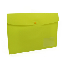 A4 size organizers pp envelopes file document bag with snap button