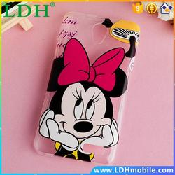 Soft Cute Painting Cases For Lenovo A319 A 319 Transparent Silicone TPU Phone Back Case Cover