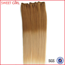 27/613 ombre color 22 inches Indian human hair weft