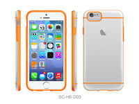 Hybrid hard bumper case for iphone 6 4.7 inch