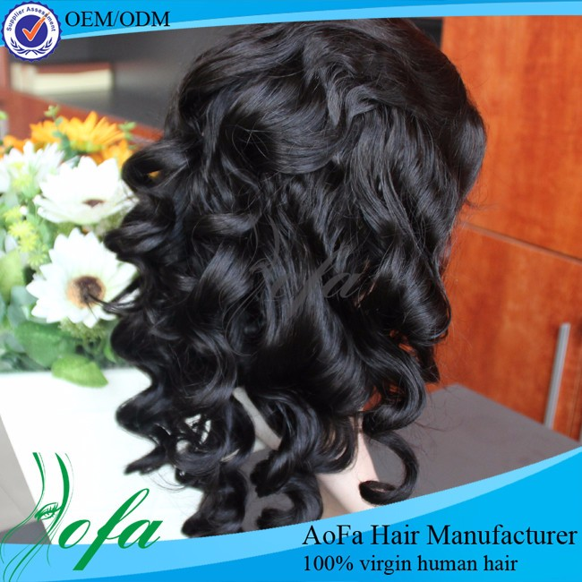 Body wave short human hair lace front wigs for black women