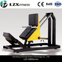 Free Weitht Machine/ lZX-3002 Hack Squat/Commercial Gym Equipment
