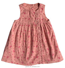 Wholesale Hot Pink Color Dress Top / Baby Girls Clothes / Children Girls Dress / Fashion Dress for Girls
