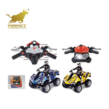 2.4G 4D dynamic motorcycle toys 4 channel rc moto 1:6 scale car toys for sale