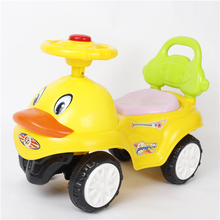 Cheap price parent with BB horn and fresh plastic baby ride on toy car