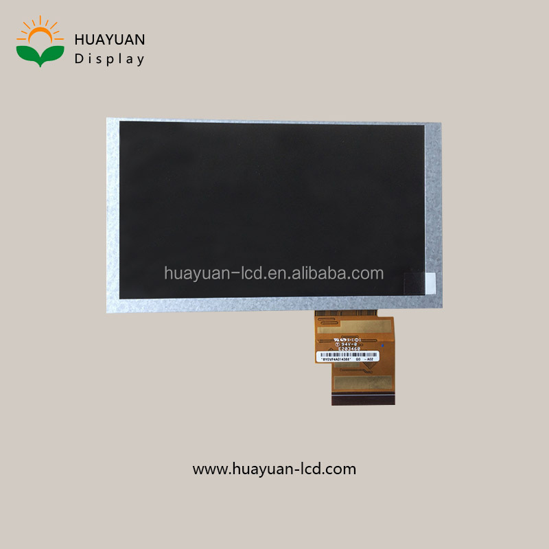6.2 tft lcd touch panel 800*480 rgb interface no touch panel 60Pin for smart gps receiver