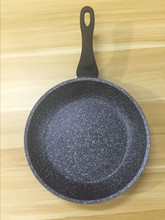 aluminum forged black marble sprinkle beatiful frying pan