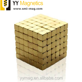 Kids toy neo cube block magnet 5x5x5mm permanent magnets