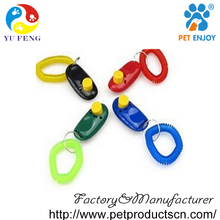 High quality Latest pet products electronic press dog clicker