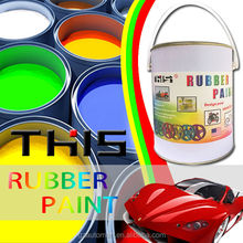 4liter liquid rubber plastic dip car body paint rubber coating spray for car