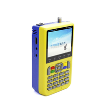 Mini high quality freesat v8 dvb s2 hd receiver satellite finder meter 3.5 inch LCD Colour Screen