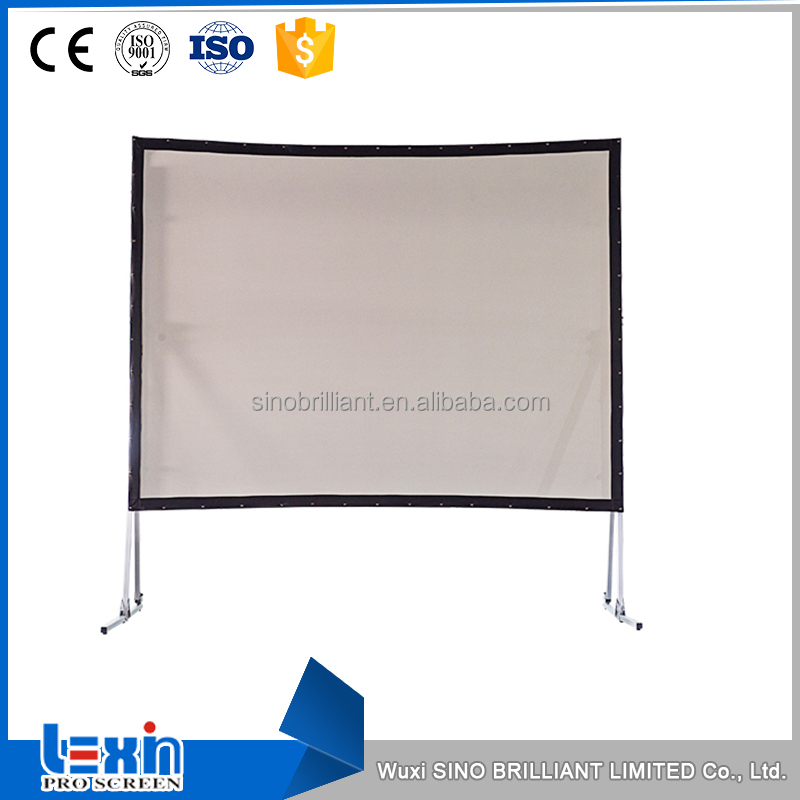 PVC Front or Rear Fast Fold Projector Screen