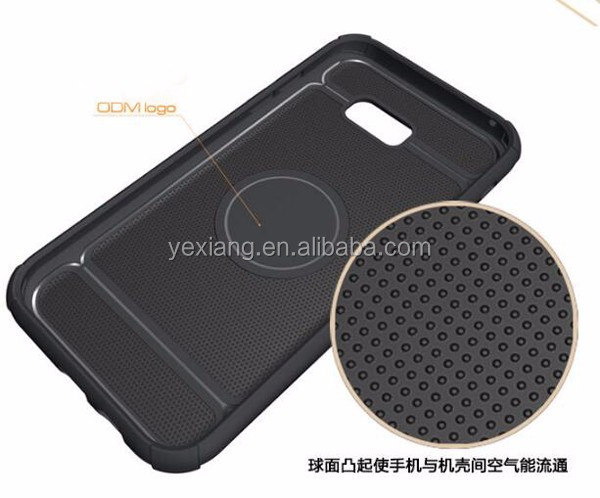 Yexiang TPU+PC hybrid combo 2 in 1 armor case for Samsung A7