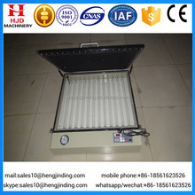 High precise tabletop vacuum UV exposure unit for screen printing equipment
