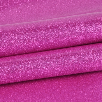 online service fluorescence color glitter pvc poly bag material