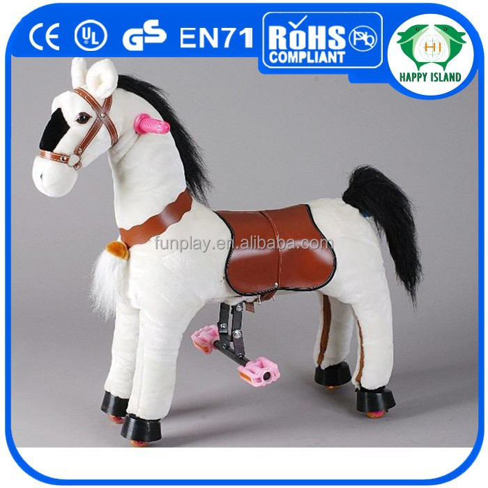 HI amazing rocking horses for adults, ride on horse toy pony,ride on horse toy