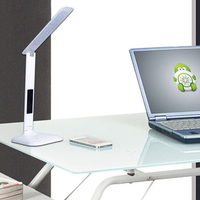 Desk lamp energy saving lamp with calendar time temperature