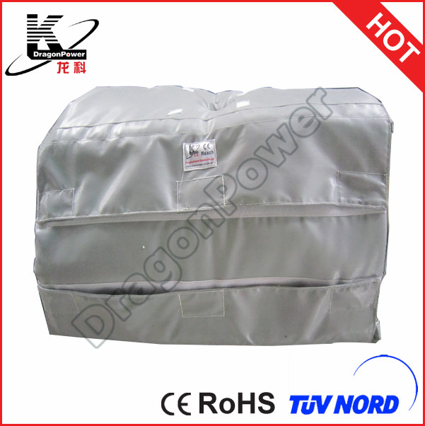 Fiberglass Insulation Cloth Heat Resistant Pipe Insulation
