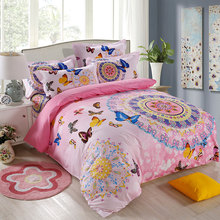 High-quality health care and beautiful skin soft bedding bed linen bedding set