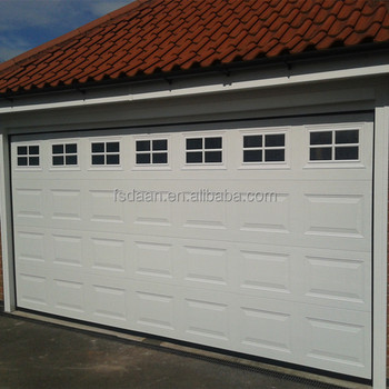 Sectional solid wood veneer garage doors buy wood veneer for Wood veneer garage doors