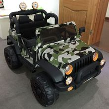 2017 Newest kids camouflage toy army jeep for sale