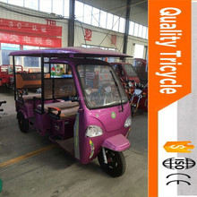 China cheap passenger three wheel motorcycle taxi tricycles