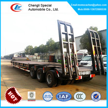 tri-axle extendable low bed trailer,low bed semi trailer dimensions,low bed trailer 100 ton