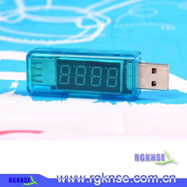 High usb digital current meter Current Meter Voltage tester,personal safety mobile power voltage detector,electric tester