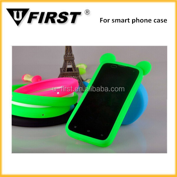 Silicone case for iphone for samsung, bracelet case for mobile phone