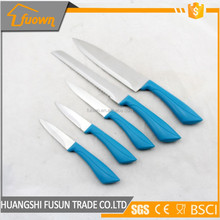 Hot cooking utensils heated kitchen knife color kitchen knife