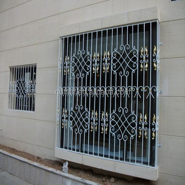 House Decor European Common Design Wrought Iron Window