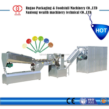 high capacity lollipop small candy making machine