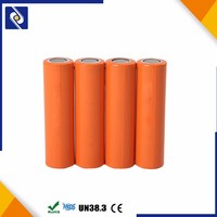 li-ion 18650 rechargeable battery 3.7v 1500mah for flashlight and power bank